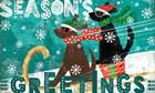 Merry Making II by Veronique Charron art print