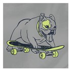Skateboarding Chuck by Marcus Prime art print