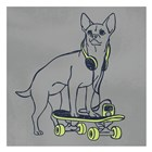 Skateboarding Stewie by Marcus Prime art print
