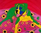 Courageous Clown by Angela Bond art print