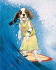 Surf Dawg by Scott Westmoreland art print