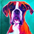 Boxer - Brahma by DawgArt art print