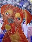 Cosmic Boxer by Lauren Moss art print