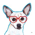 Bespectacled Pet I by Melissa Averinos art print