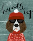 Bundle Up by Katie Doucette art print