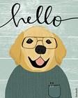 Hello Retriever by Katie Doucette art print