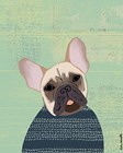 French Bulldog by Katie Doucette art print