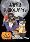 Fright Night Friends - Happy Halloween I by Tara Reed art print