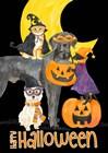 Fright Night Friends - Happy Halloween II by Tara Reed art print