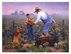 Grandpas Pumpkins by Jack Sorenson art print
