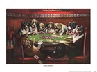 Poker Sympathy by Cassius Marcellus Coolidge art print