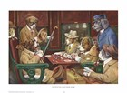 His Station And Four Aces by Cassius Marcellus Coolidge art print