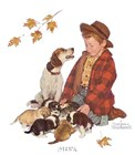 Pride of Parenthood by Norman Rockwell art print