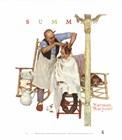 Shear Agony by Norman Rockwell art print