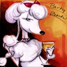 Party Pooch by Tracy Flickinger art print