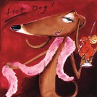 Hot Dog by Tracy Flickinger art print