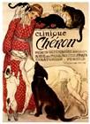 Clinique Cheron by Theophile-Alexandre Steinlen art print