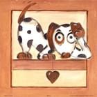 Puppy Love III by Alfred Gockel art print