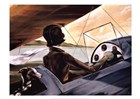 Mediterranean Flight by Trish Biddle art print