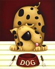Dinner's in the Dog (Mini) by J. Parry art print