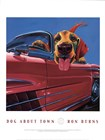 Dog About Town by Ron Burns art print