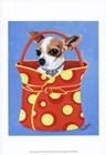 Chihuahua Dots by Carol Dillon art print