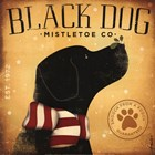 Black Dog Mistletoe by Stephen Fowler art print