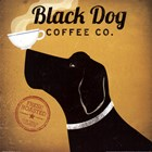 Black Dog Coffee Co by Ryan Fowler art print