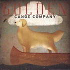 Golden Dog Canoe Co. by Ryan Fowler art print