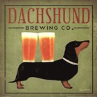 Dachsund Brewing Co. by Ryan Fowler art print
