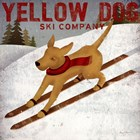 Yellow Dog Ski Co by Ryan Fowler art print