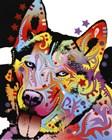 Siberian Husky 1 by Dean Russo art print