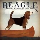 Beagle Canoe Co by Ryan Fowler art print