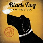 Black Dog Coffee Co. by Ryan Fowler art print