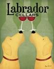 Two Labrador Wine Dogs by Ryan Fowler art print