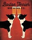 Boston Terrier Brewing Co. by Ryan Fowler art print