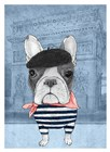 French Bulldog by Barruf art print