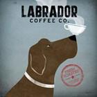 Labrador Coffee Co. by Ryan Fowler art print