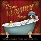 Luxury Soaps by Conrad Knutsen art print