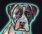 Love Thy Boxer by Dean Russo art print