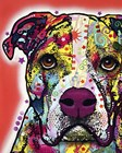 American Bulldog 2 by Dean Russo art print