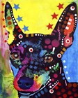 Miniature Pinscher by Dean Russo art print