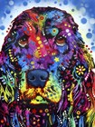Cocker Spaniel 2 by Dean Russo art print