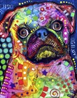 Pug 92309 by Dean Russo art print