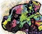 Profile Boxer Deco by Dean Russo art print