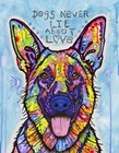 Dogs Never Lie by Dean Russo art print