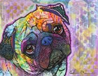 Pug Love by Dean Russo- Exclusive art print