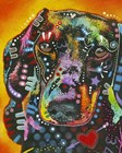 Brilliant Dachshund by Dean Russo- Exclusive art print