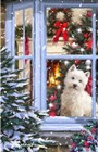 Dog At Window 1 by The Macneil Studio art print