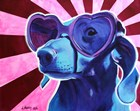 Puppy Love by DawgArt art print